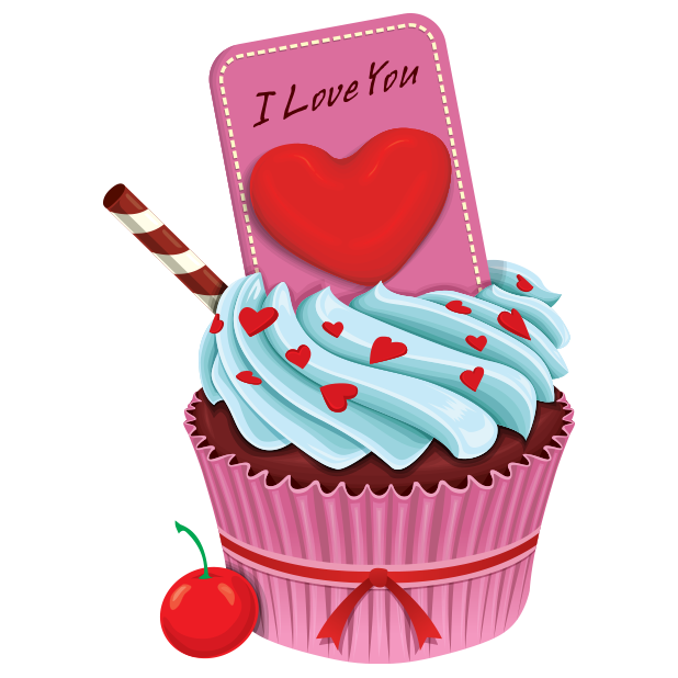 Tasty Sprinkle Cupcakes messages sticker-10
