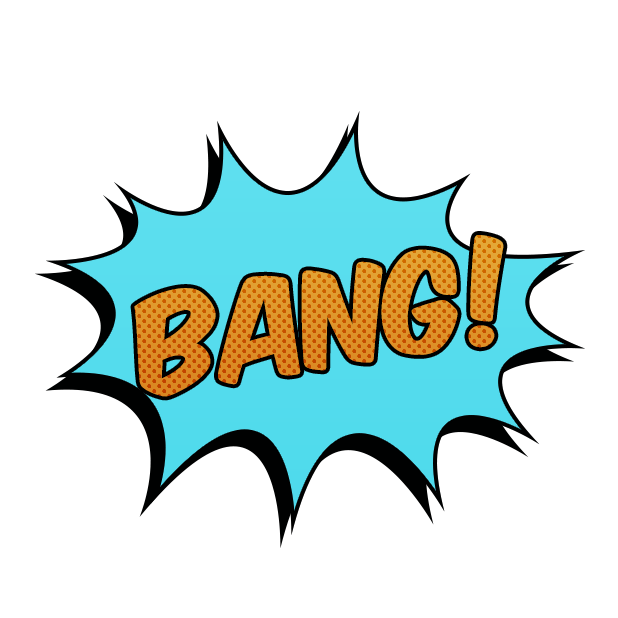 Comic Blast Animated Stickers messages sticker-1