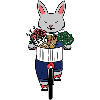 Bunny Business messages sticker-1