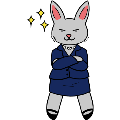 Bunny Business messages sticker-3