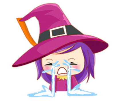 Little Witch - Cute witch stickers messages sticker-3