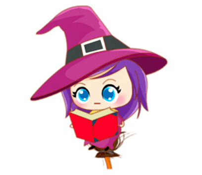 Little Witch - Cute witch stickers messages sticker-5