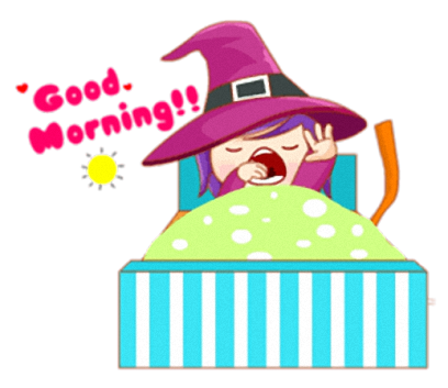 Little Witch - Cute witch stickers messages sticker-11
