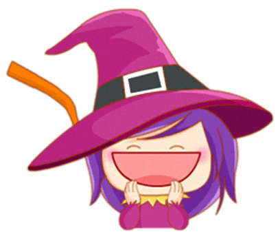 Little Witch - Cute witch stickers messages sticker-4