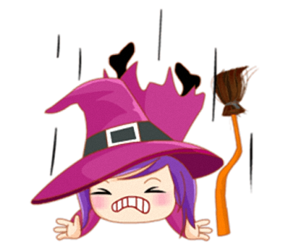 Little Witch - Cute witch stickers messages sticker-9