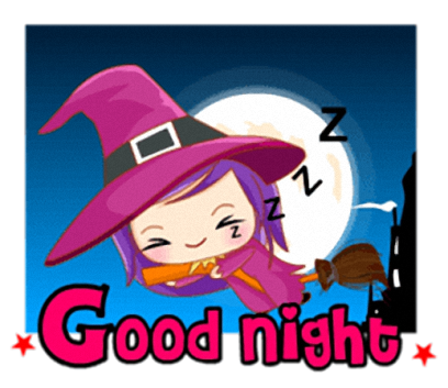 Little Witch - Cute witch stickers messages sticker-8