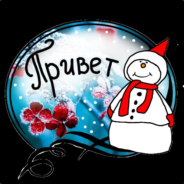 Winter Stickers messages sticker-7