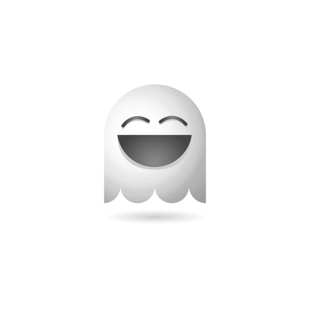 Ghosty Emoji messages sticker-0