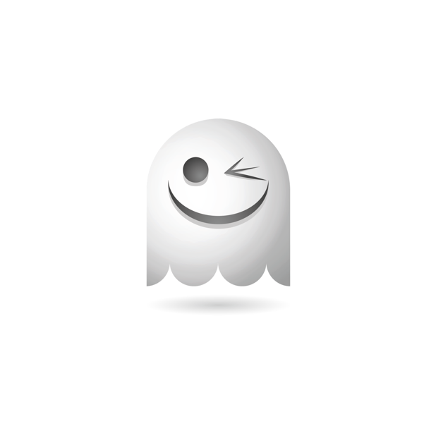 Ghosty Emoji messages sticker-1
