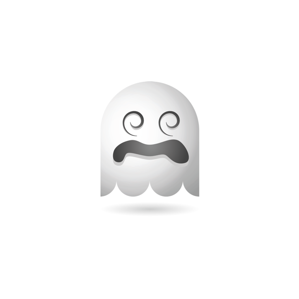 Ghosty Emoji messages sticker-11