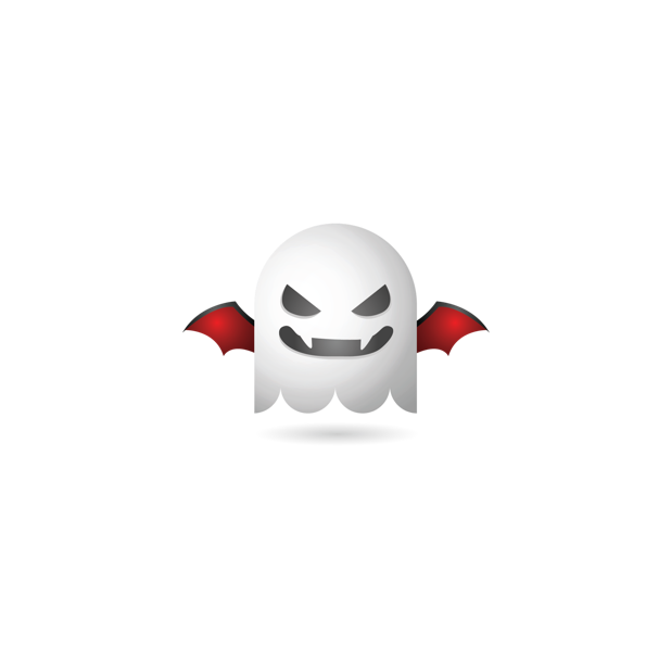 Ghosty Emoji messages sticker-8