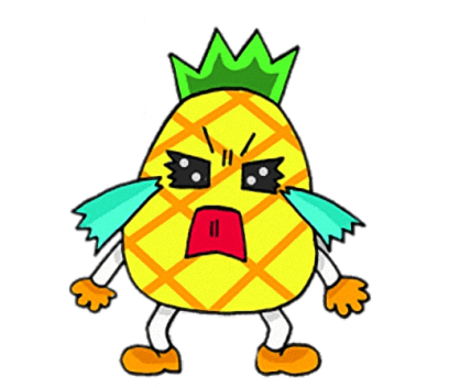 Devil Pine - Cutest pineapple stickers messages sticker-4