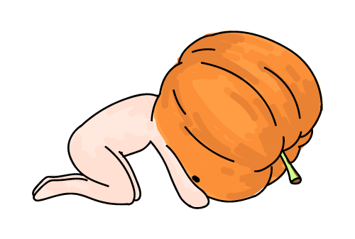 Pumpkin-Pumki Stickers messages sticker-8