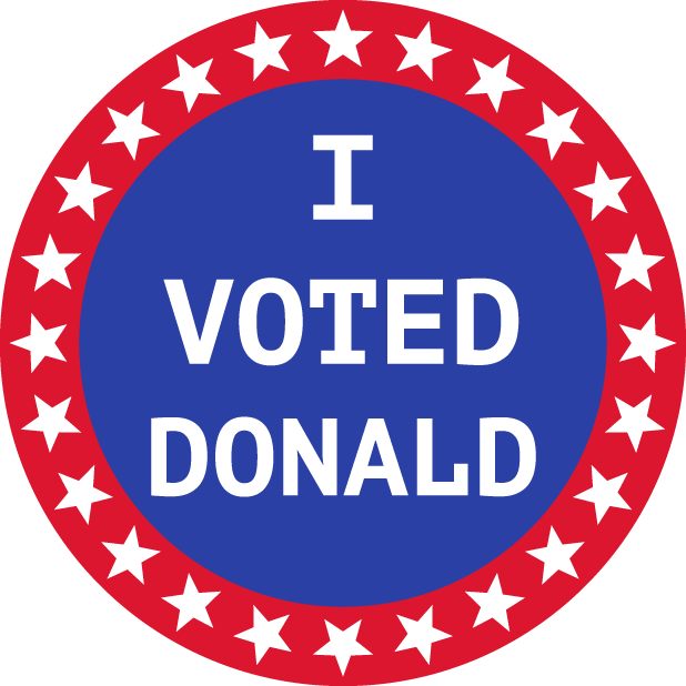 Election Stickers 2016 messages sticker-11
