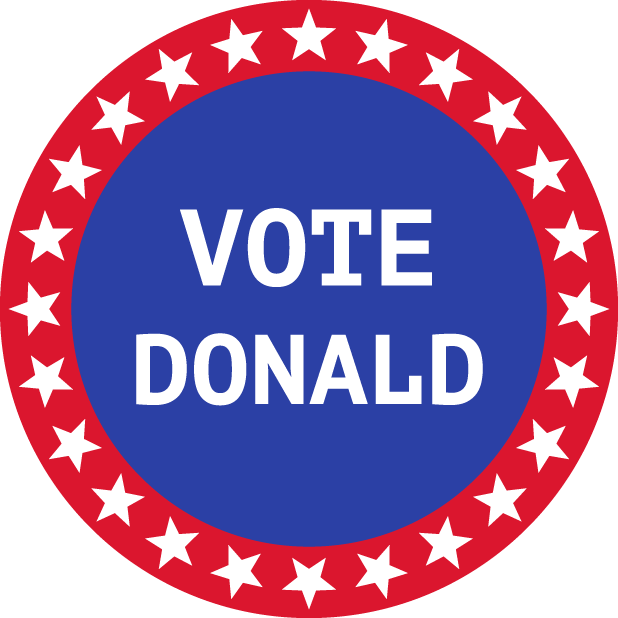 Election Stickers 2016 messages sticker-7