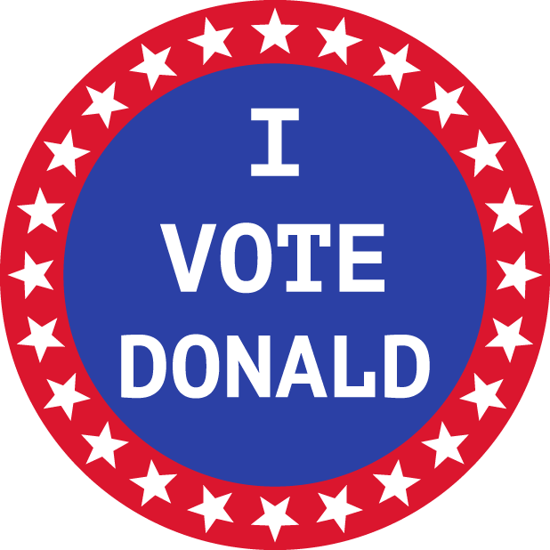 Election Stickers 2016 messages sticker-3