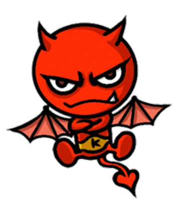 Little Devil - Cute devil stickers messages sticker-0