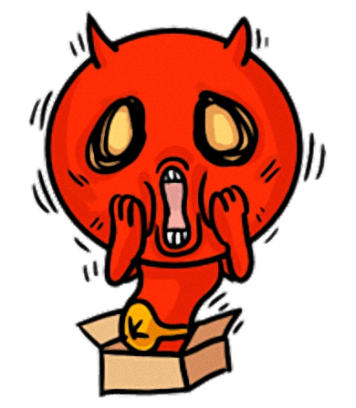 Little Devil - Cute devil stickers messages sticker-11