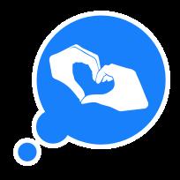Tapback Pack messages sticker-8