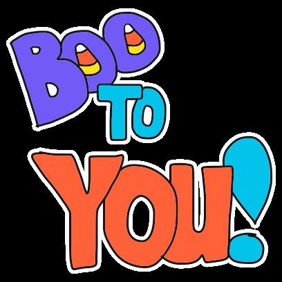 Burd Antix: Halloween messages sticker-10