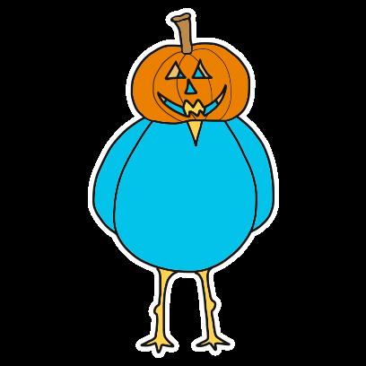 Burd Antix: Halloween messages sticker-5
