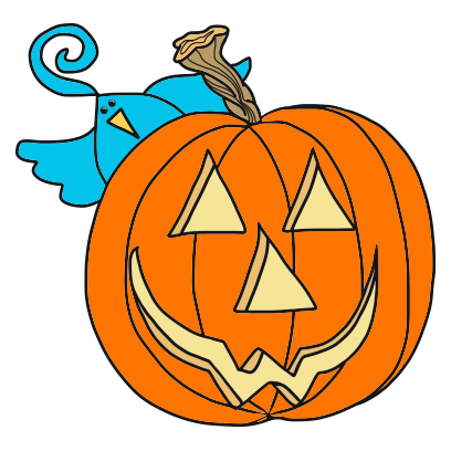 Burd Antix: Halloween messages sticker-7
