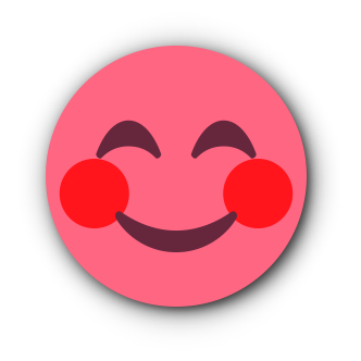 RED Emoji • Stickers for iMessage messages sticker-0