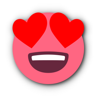 RED Emoji • Stickers for iMessage messages sticker-3