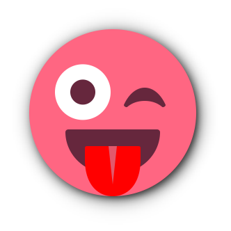 RED Emoji • Stickers for iMessage messages sticker-8