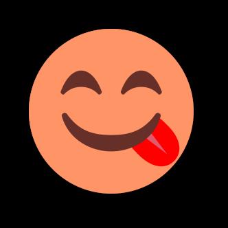 ORANGE Emoji • Stickers messages sticker-1