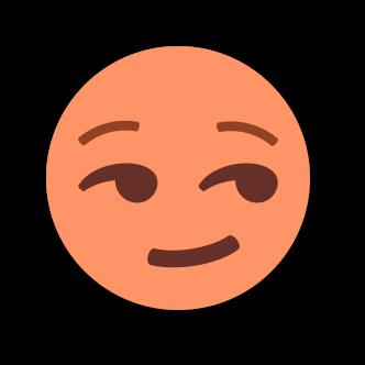 ORANGE Emoji • Stickers messages sticker-5