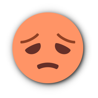 ORANGE Emoji • Stickers messages sticker-10