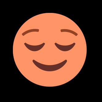 ORANGE Emoji • Stickers messages sticker-2