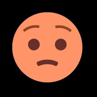 ORANGE Emoji • Stickers messages sticker-11