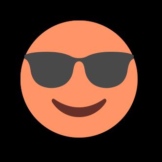 ORANGE Emoji • Stickers messages sticker-4