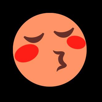 ORANGE Emoji • Stickers messages sticker-6