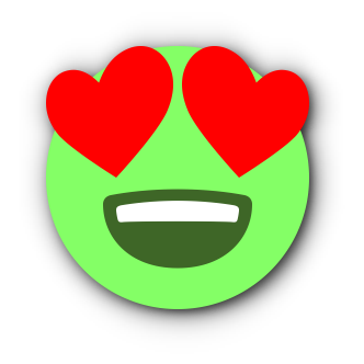 GREEN Emoji • Stickers for iMessage messages sticker-3