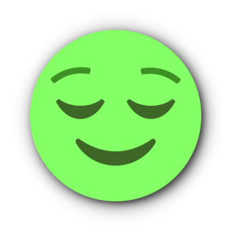 GREEN Emoji • Stickers for iMessage messages sticker-2