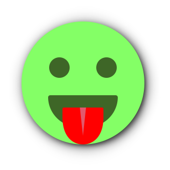 GREEN Emoji • Stickers for iMessage messages sticker-7