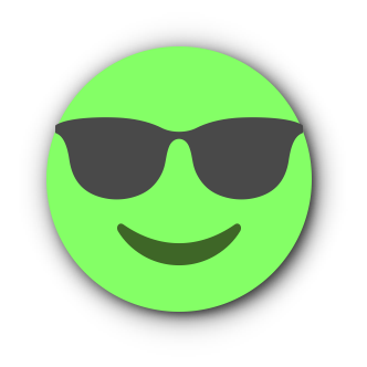 GREEN Emoji • Stickers for iMessage messages sticker-4