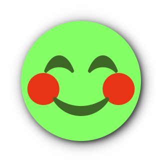 GREEN Emoji • Stickers for iMessage messages sticker-0