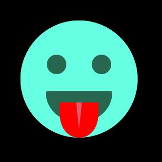 TURQUOISE Emoji • Stickers messages sticker-7
