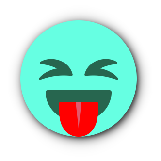 TURQUOISE Emoji • Stickers for iMessage messages sticker-9