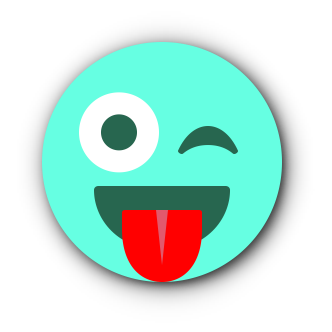 TURQUOISE Emoji • Stickers for iMessage messages sticker-8
