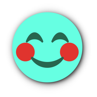 TURQUOISE Emoji • Stickers for iMessage messages sticker-0