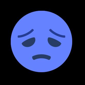 BLUE Emoji • Stickers for iMessage messages sticker-10