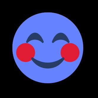 BLUE Emoji • Stickers for iMessage messages sticker-0