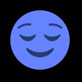 BLUE Emoji • Stickers for iMessage messages sticker-2