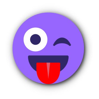 PURPLE Emoji • Stickers messages sticker-8