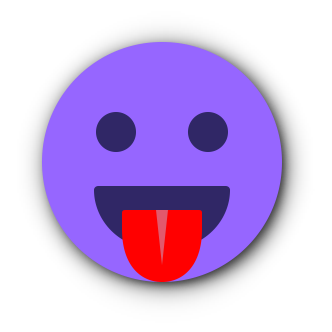 PURPLE Emoji • Stickers messages sticker-7
